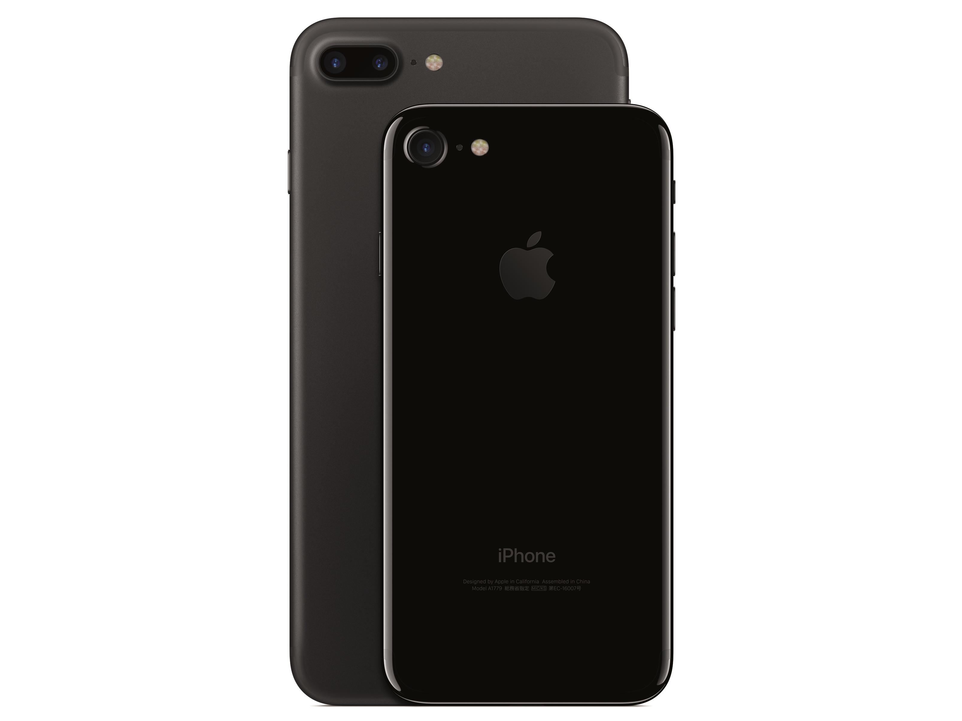 iPhone 7 e 7 Plus: Black vs Jet Black, quali sono le differenze?