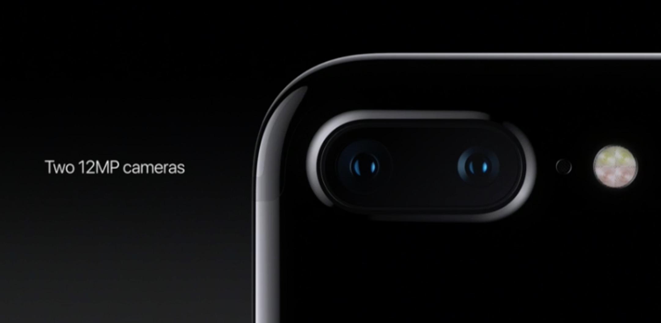 iPhone 7 Plus due fotocamere posteriori