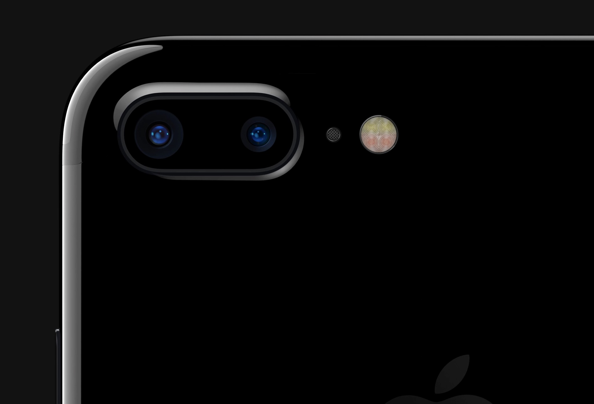 iPhone 7 Plus fotocamera doppia retro