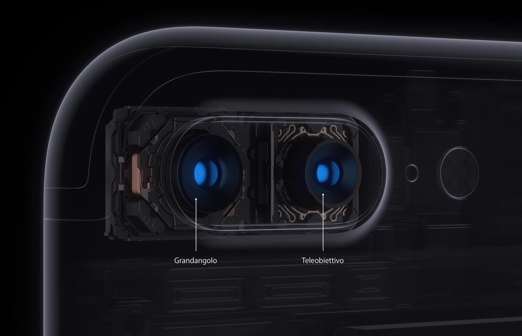 iPhone 7 Plus fotocamera doppia