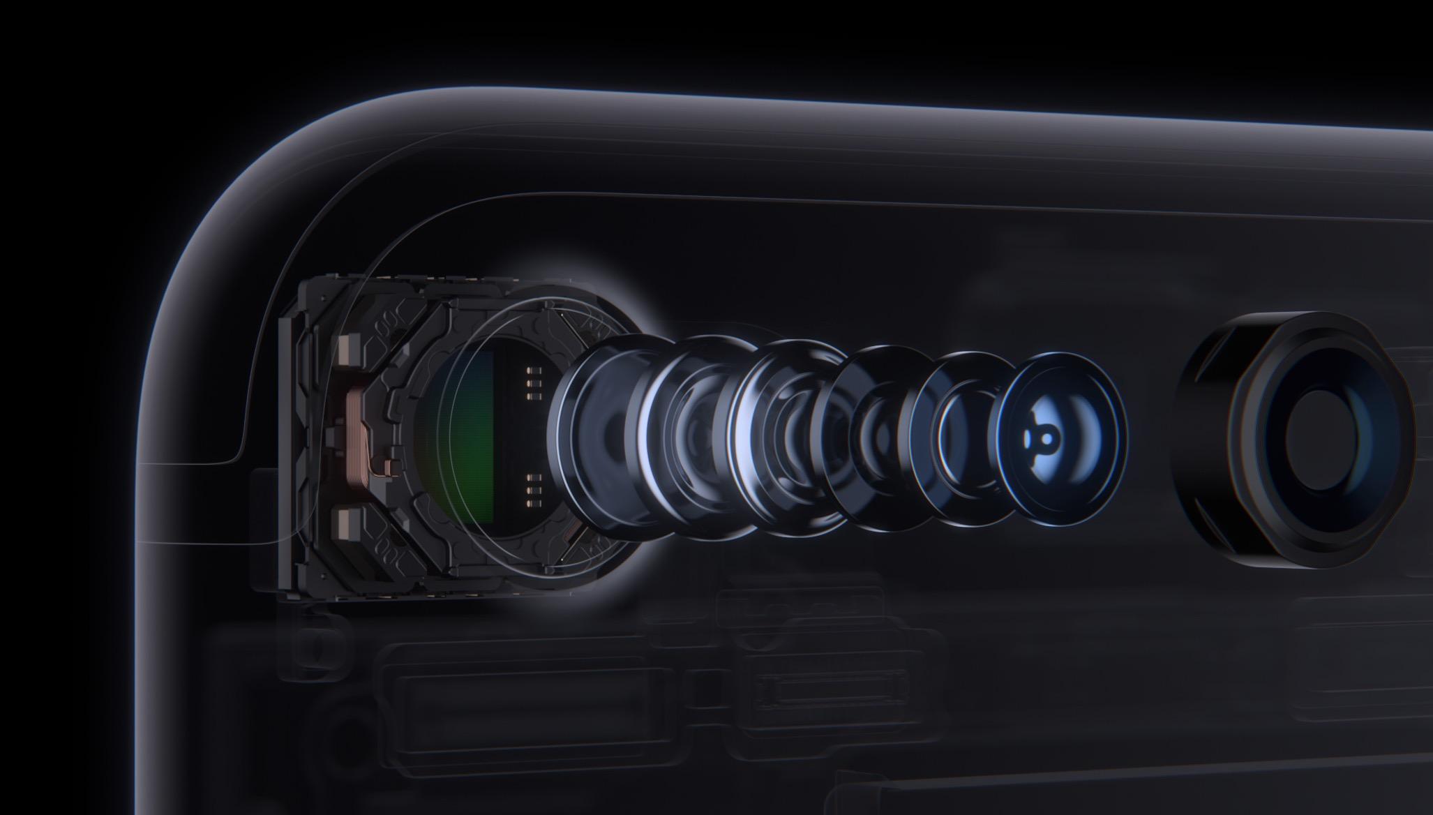 iPhone 7 fotocamera e lenti