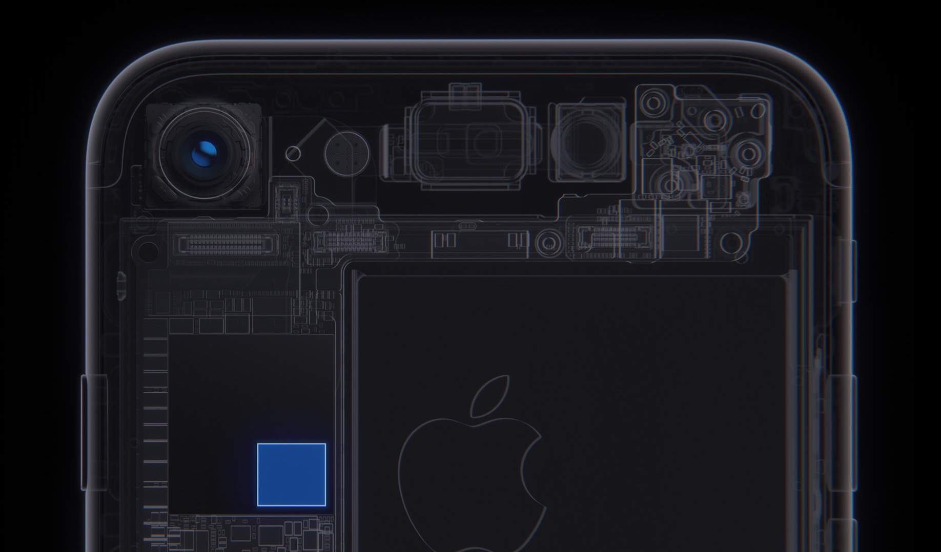 iPhone 7 fotocamera processore di immagine
