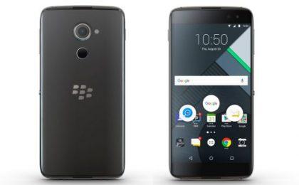 Blackberry DTEK60: prezzo e scheda tecnica ufficiali
