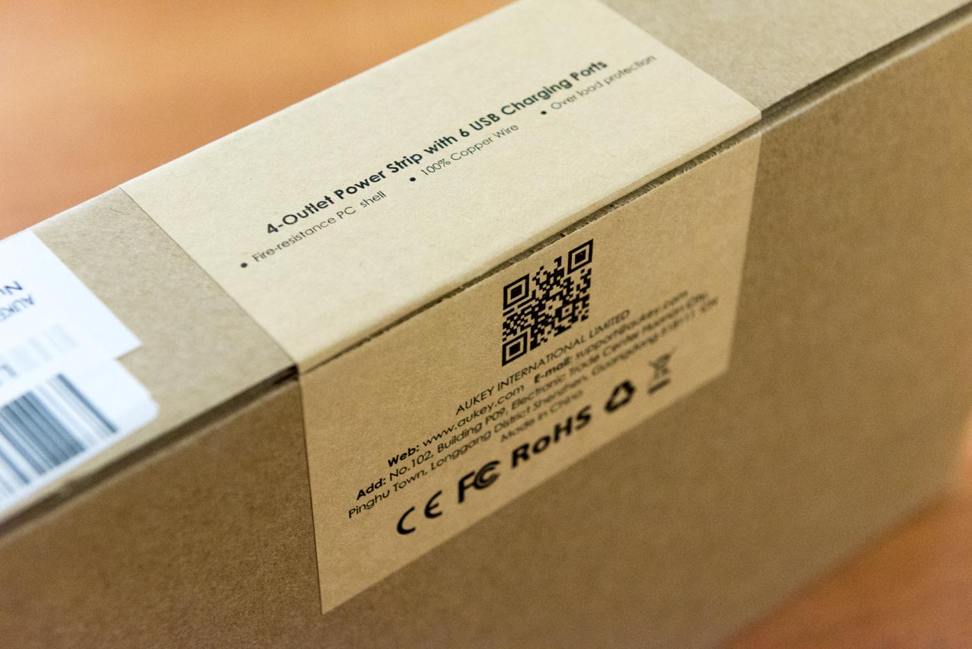 Ciabatta elettrica AUKEY PA S4 unboxing