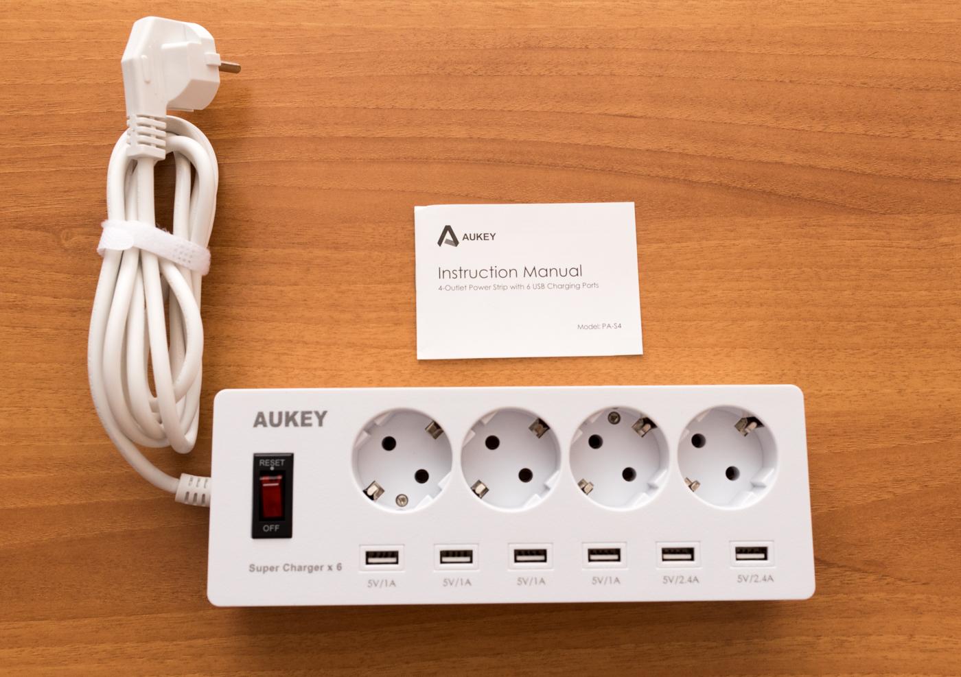 Ciabatta elettrica AUKEY PA S4