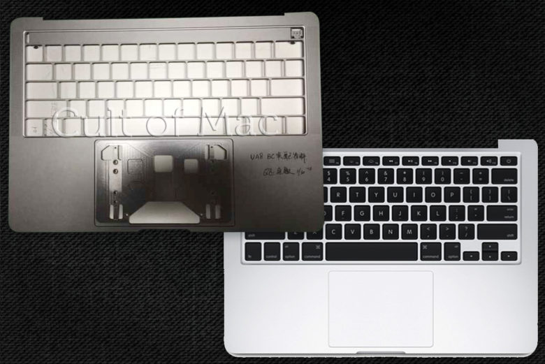 Confronto chassis MacBook Pro 2016
