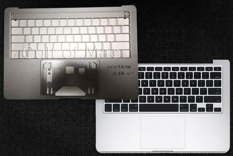 Confronto chassis MacBook Pro 2016