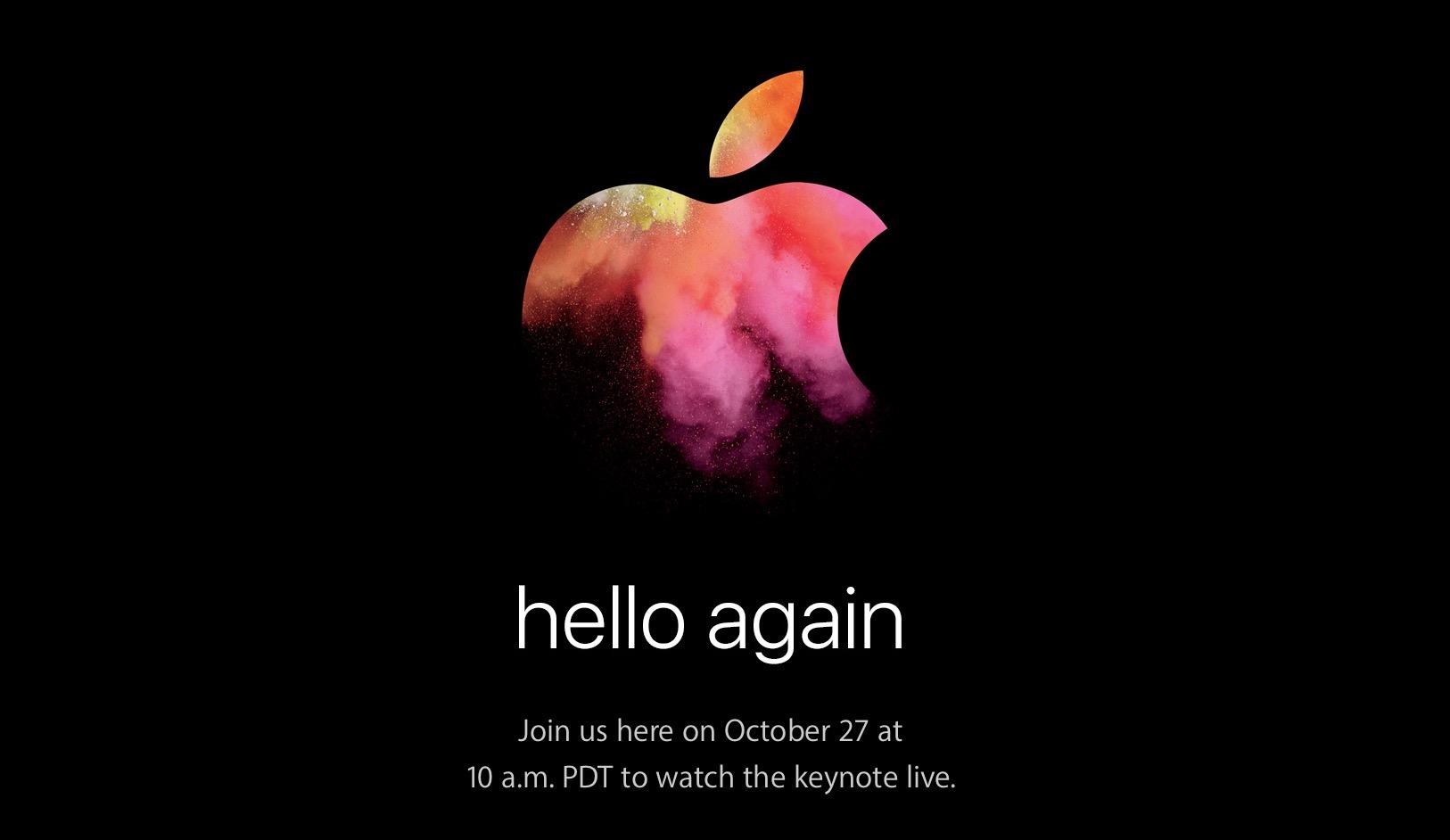Evento Apple 27 ottobre: diretta streaming, come seguirlo