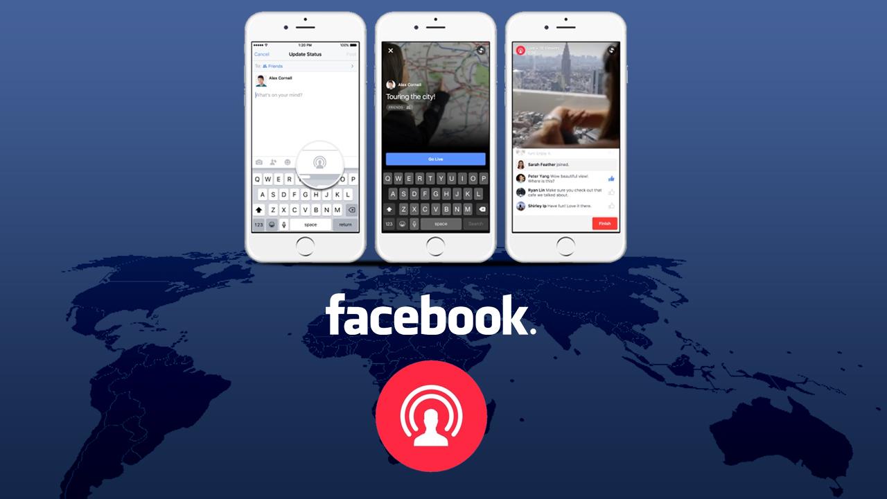 Facebook Live, dirette streaming programmabili