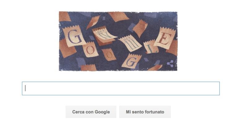 Google Doodle per i 434 anni del Calendario Gregoriano