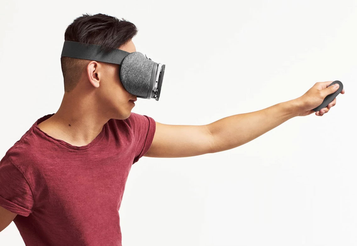 Google DayDream View visore VR