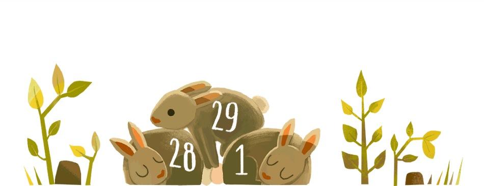 Google Doodle anno bisestile 29 febbraio 2016