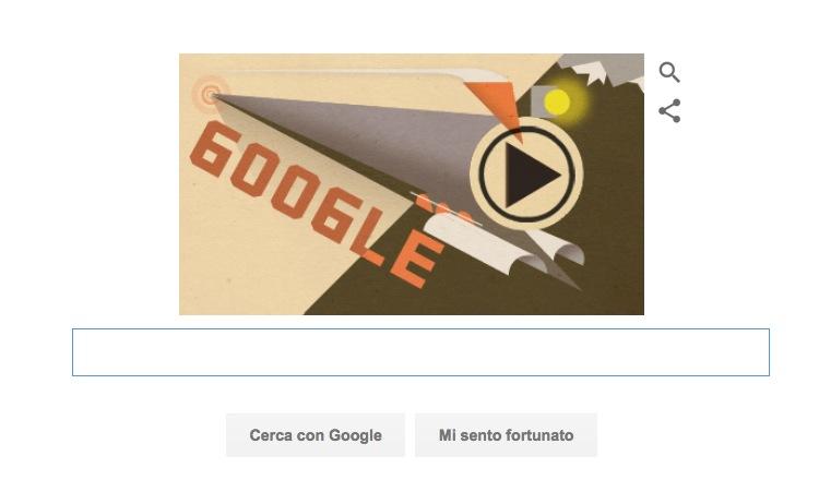 Google Doodle per il completamento della Ferrovia Transiberiana
