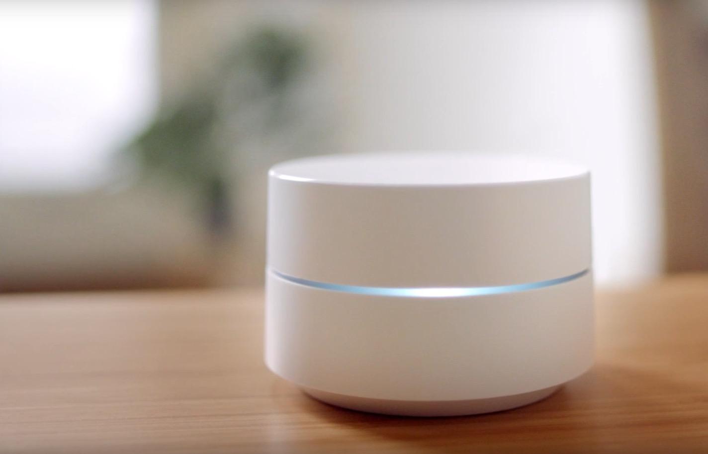 Google WiFi router intelligente