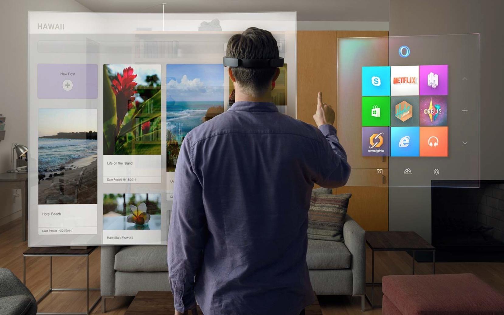 Microsoft HoloLens, arriva in Europa a novembre
