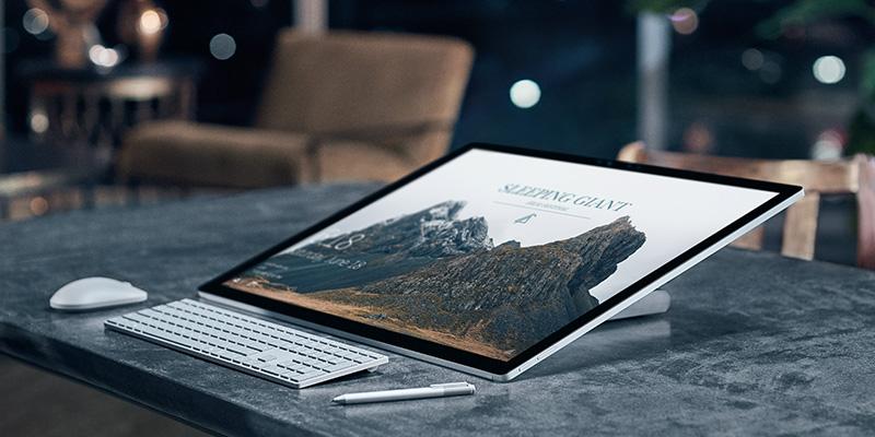 Microsoft Surface Studio display