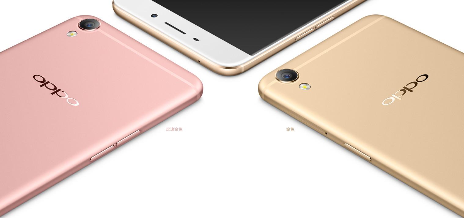 Oppo R9 Plus colori