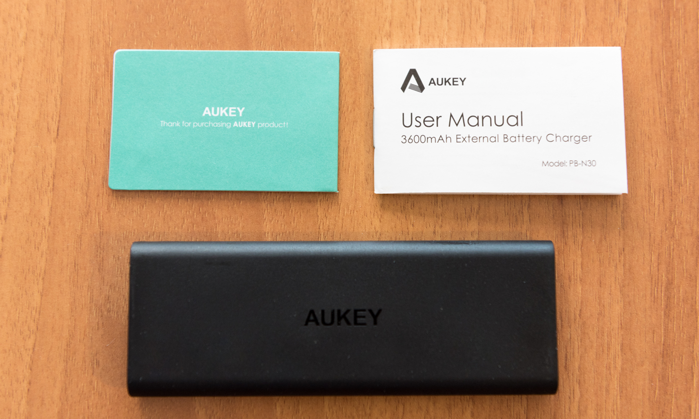 Unboxing AUKEY PB N30