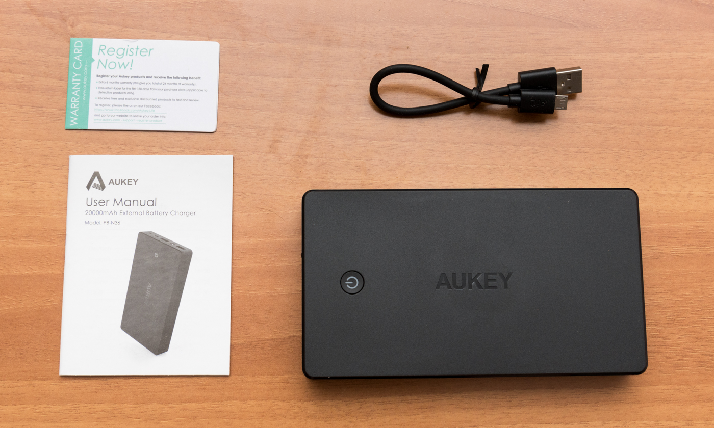 Unboxing Power Bank AUKEY PB N36
