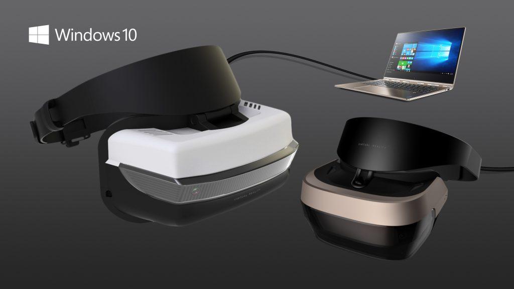 Windows 10 Creators Update realtà virtuale visori VR