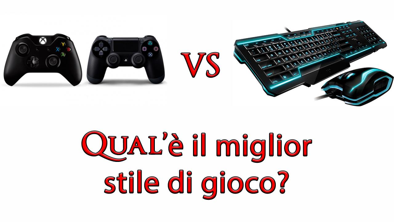 Mouse e Tastiera o Controller? Qual'è il miglior stile di gioco?
