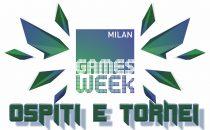 Games Week 2016: ospiti e tornei