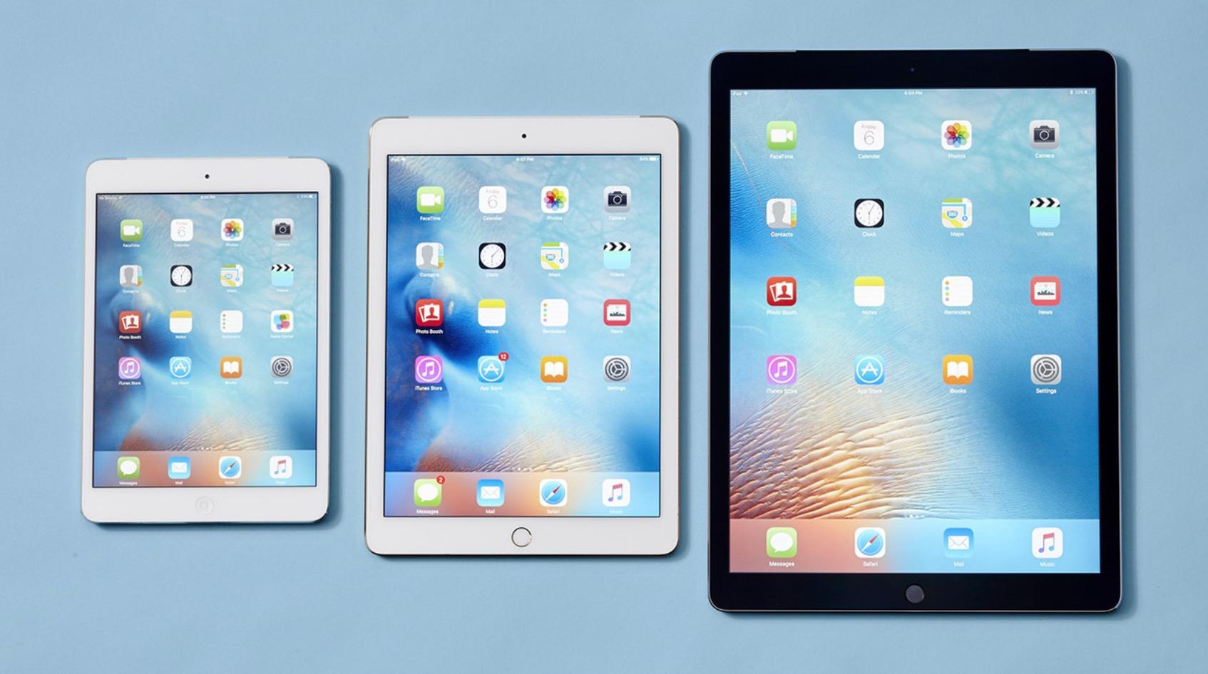 iPad Pro tre modelli