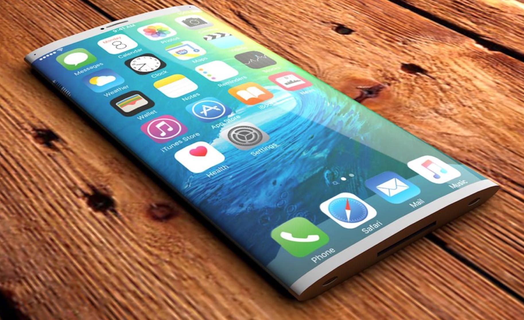 iPhone 8 Plus con schermo OLED con design edge-to-edge