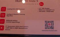 Huawei Mate 9: prezzo, uscita e scheda tecnica ufficiale