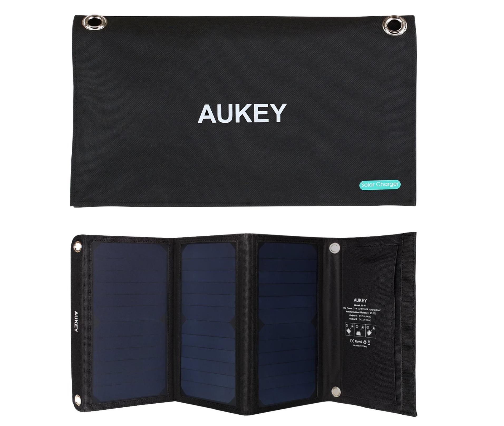 AUKEY Caricabatteria solare