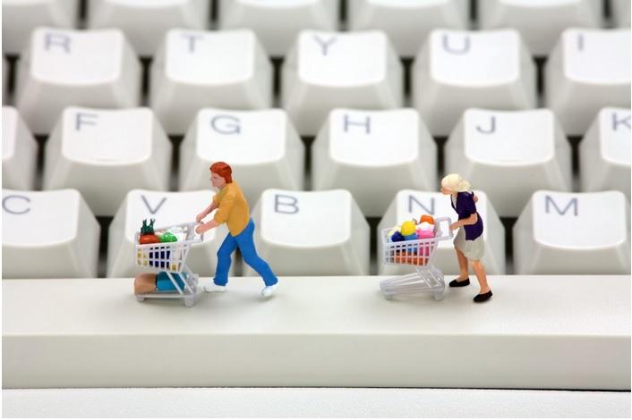 Acquisti su siti web online