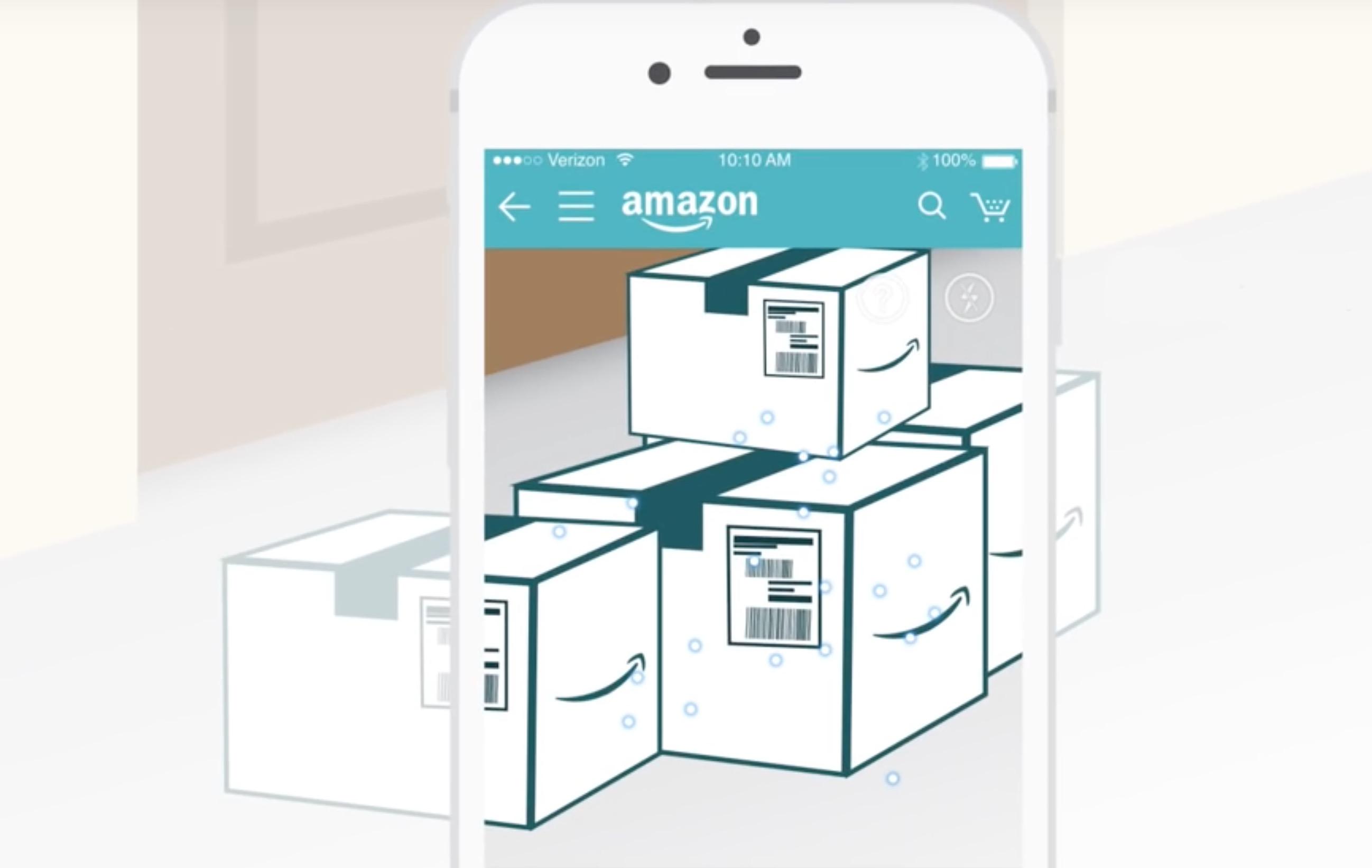 Amazon Package X Ray, l'app per scoprire cosa c'è dentro i pacchi