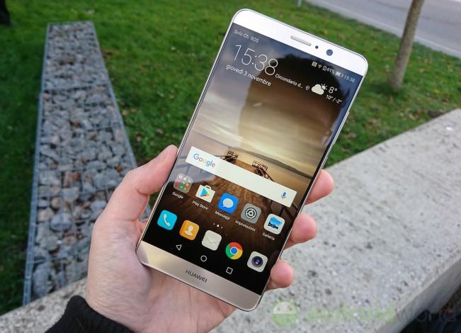Anteprima Huawei Mate 9 dimensioni