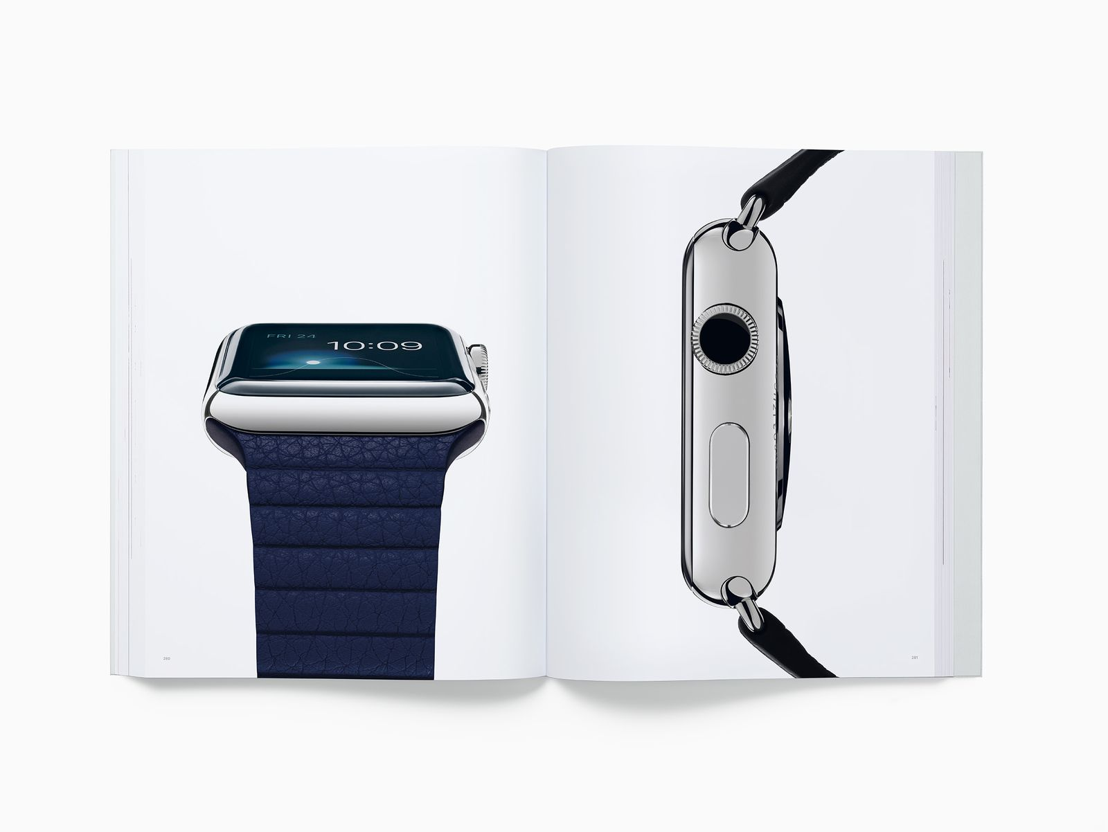 Apple Watch libro Designed by Apple in California
