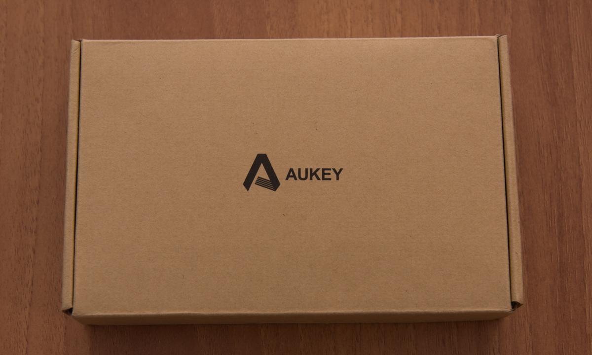 Aukey PB N39 unboxing scatola