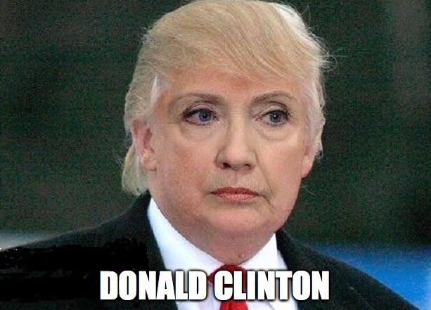 Clinton vs trump meme