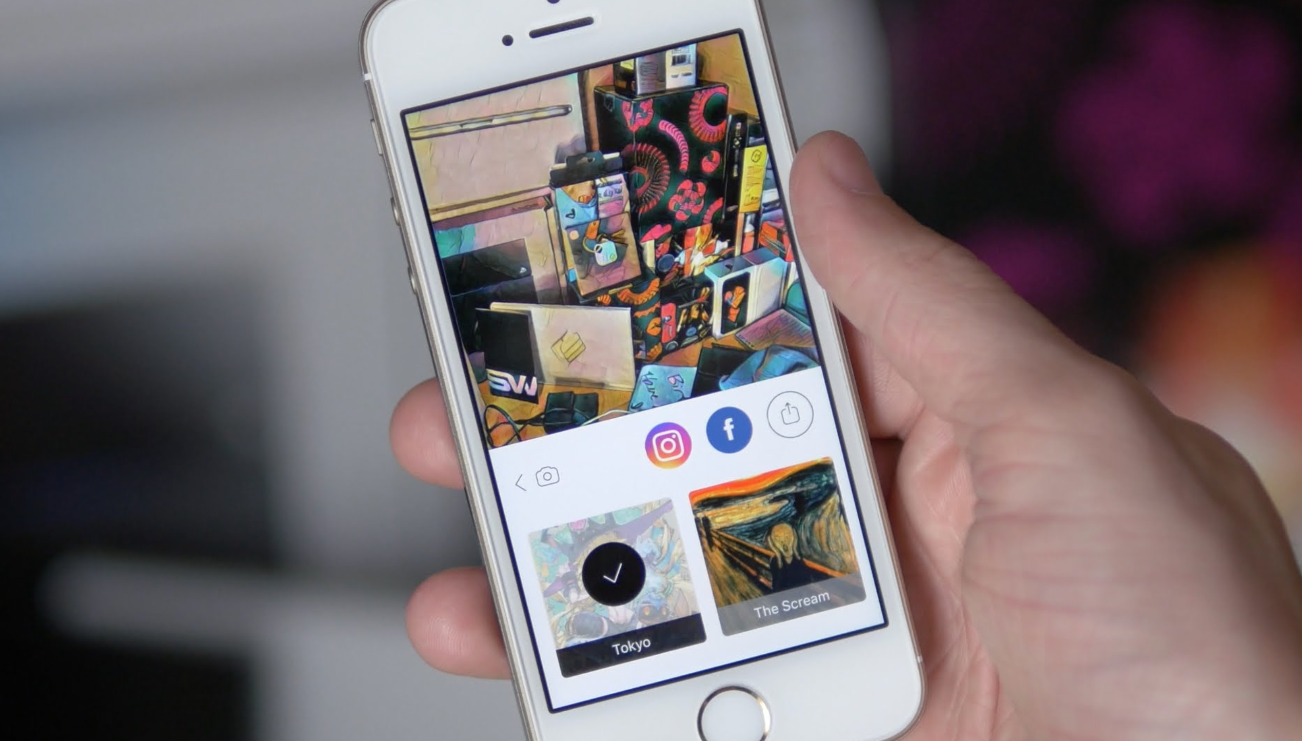 Facebook Live si arricchisce dei filtri di Prisma