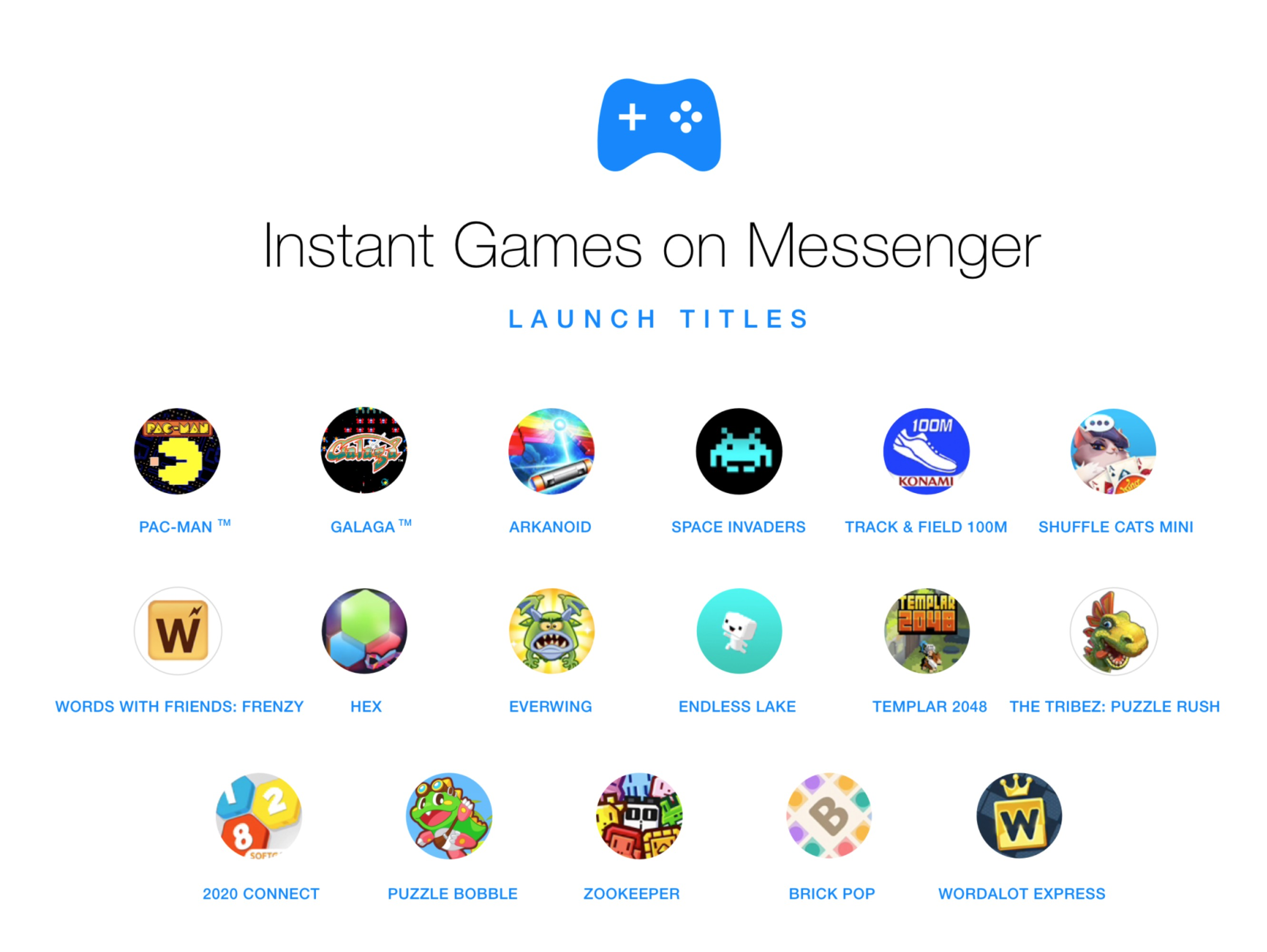 Giochi Instant Games Messenger