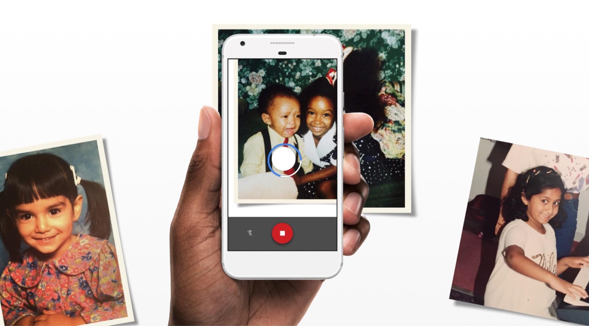 Google FotoScan, app per digitalizzare le vecchie foto
