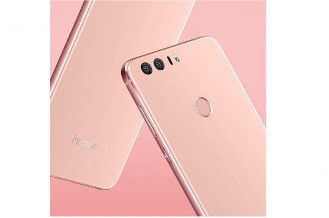 Honor 8 rosa in uscita in Europa con la versione Sakura Pink