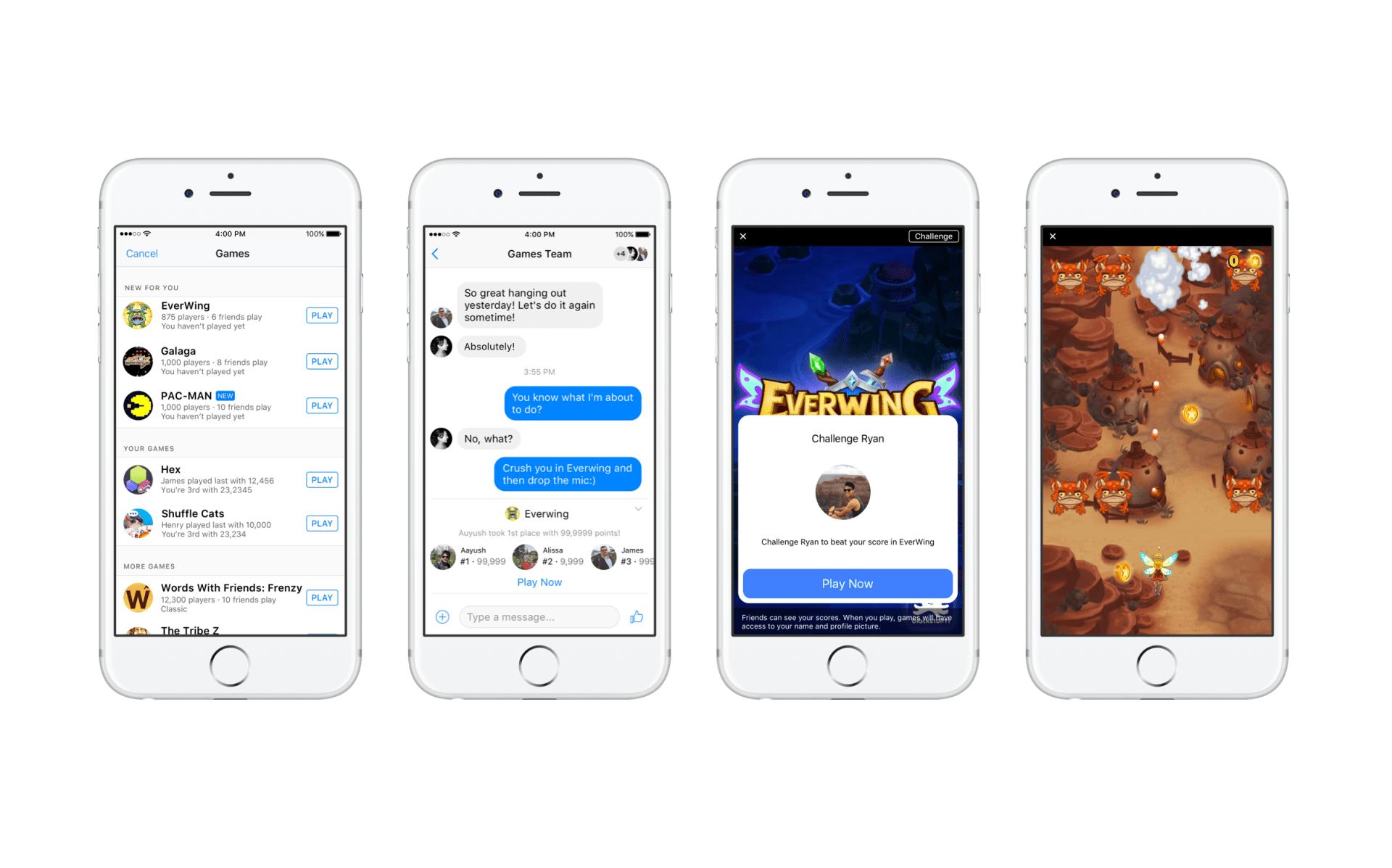 Instant Messenger giochi smartphone