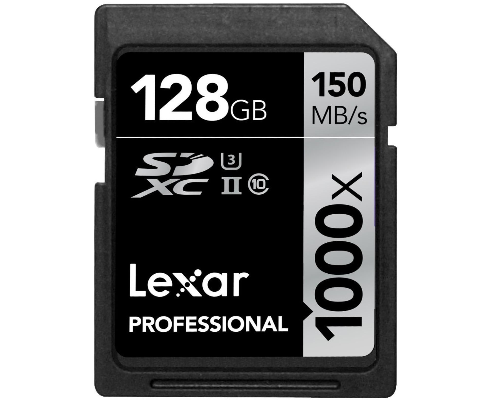 Lexar Professional SDXC 128 GB