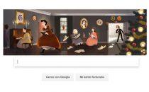Google Doodle per Louisa May Alcott e le Piccole Donne