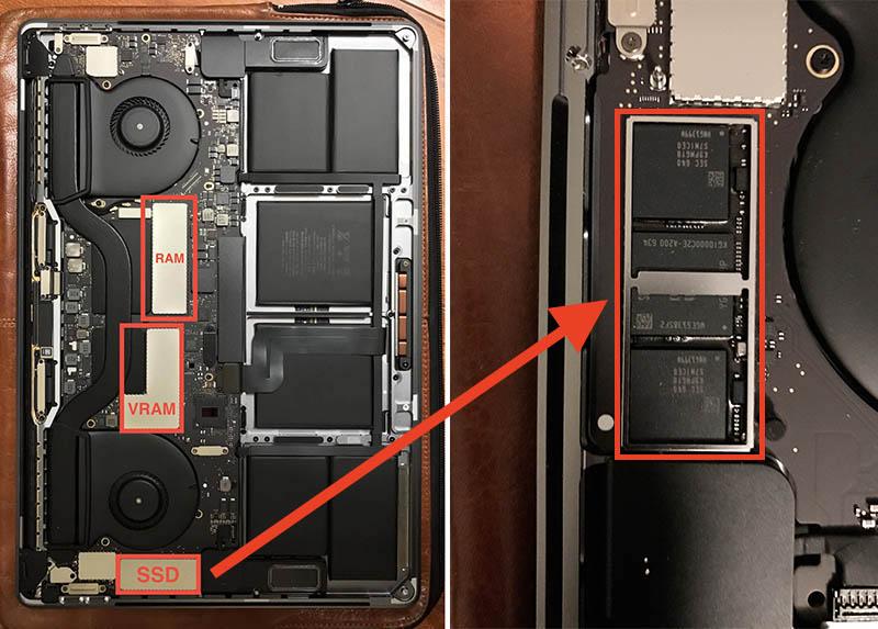 MacBook Pro 2016 SSD saldato