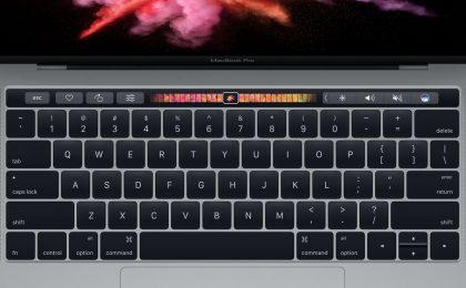 MacBook Pro 2016 con Touch Bar: iniziate le prime consegne