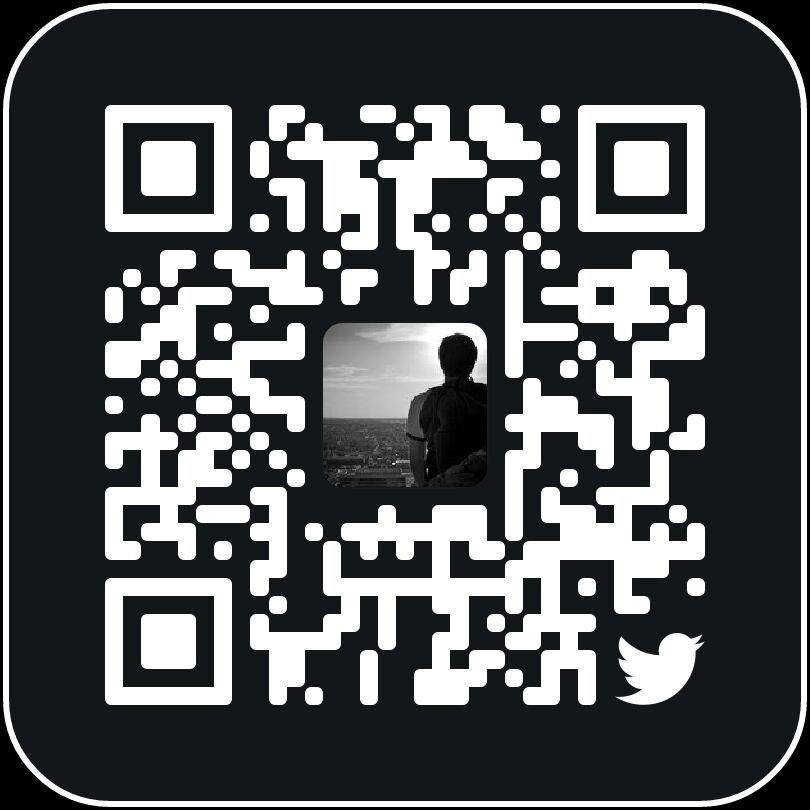 QR Code account Twitter