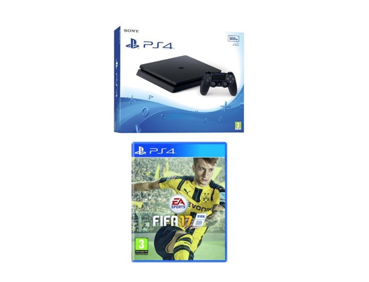 Sony PlayStation 4 FIFA 17 bundle
