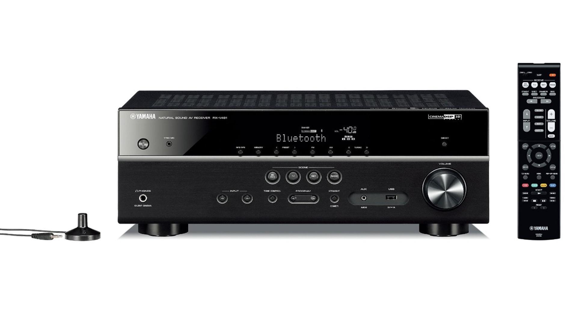 Yamaha MusicCast RX V481
