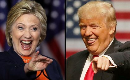 Clinton Vs Trump: le GIF animate più belle del web
