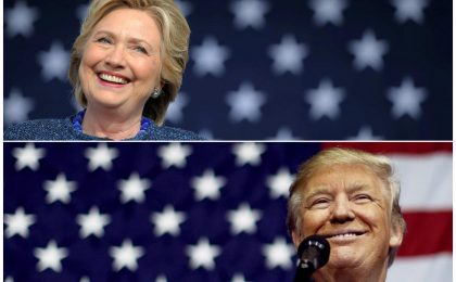 Clinton vs Trump: come seguire elezioni sul web